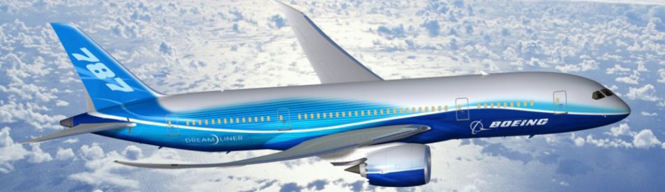 Boeing Dreamliner 787 Flight Booking